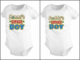 Funny Baby shirt Bodysuit Infant Mommy's Daddy's Little Boy Shower party... - $13.99