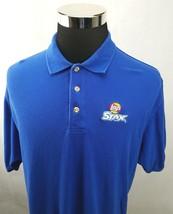 Lay's Stax Potato Chips Sewn Logo Uniform Employee Polo Shirt Men's Size... - $16.82