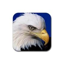 Eagle Bird (Square) Rubber Coaster - $2.99
