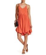 NEW Nordstrom Romeo Juliet Apricot Orange Cut Away Swing Dress NWT $208 ... - $24.00