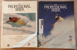 Lot 2 The Professional Skier magazine Winter 1989 & 1990 - $4.65