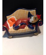 Goebel Cat Music Box Signed R. Wachtmeister - $75.50