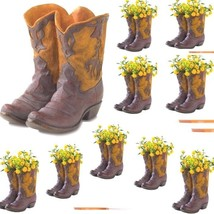 10 Boot Planter Party Wedding Centerpieces Table Decor - $186.76