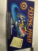 Flying High around the world in 80 plays Board Game complete with parts & manual - $39.50