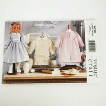 Vogue 7038 Teresa Layman 18 in Doll Fashion Uncut Pattern - $14.99