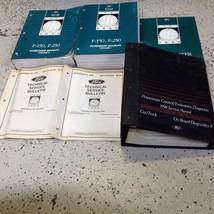 1998 Ford F-150 F150 F250 F-250 TRUCK Service Shop Repair Manual Set W PCED OEM - $197.99