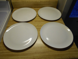 Centura by Corning white coupe dinner plates - $56.95