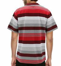 Men's Striped Lightweight Cotton Blend Mesh Classic Polo Shirt 5XL w/ Defect image 2
