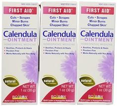 Boiron Calendula Ointment, Homeopathic Medicine for Skin Irritation and Burns, 1