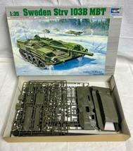 Sweden Strv 103B MBT 1/35 Trumpeter #309 - $24.74