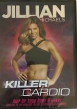 """DVD 2017  """"Jillian Michaels: Killer Cardio"""" Maximum Fat Loss! Gain Energy! - $12.62"""