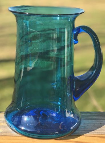 Primary image for Bischoff Azure Blue Pitcher