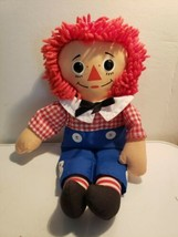 """1996 Raggedy Andy Hasbro by Johnny Gruelle #70103 - clean classic doll 12""""  - $7.99"""