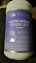 Vital Proteins Blueberry Moon Milk Collagen Latte 11.5 oz Exp 10/21 - $28.71