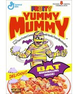 Yummy Mummy Monster Cereal Box Reproduction Stand-Up Display - Retro Loo... - $15.99
