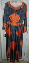 VTG Morton Myles for Malcolm Charles Navy Blue Orange Polka Dot Jumpsuit... - $99.00