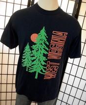 Screen Stars West Virginia thin retro 50/50 90s adult tee shirt xl USA - $19.95