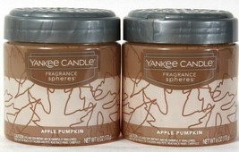 2 Yankee Candle 6 Oz Apple Pumpkin Small Space Up To 30 Days Fragrance S... - $12.99
