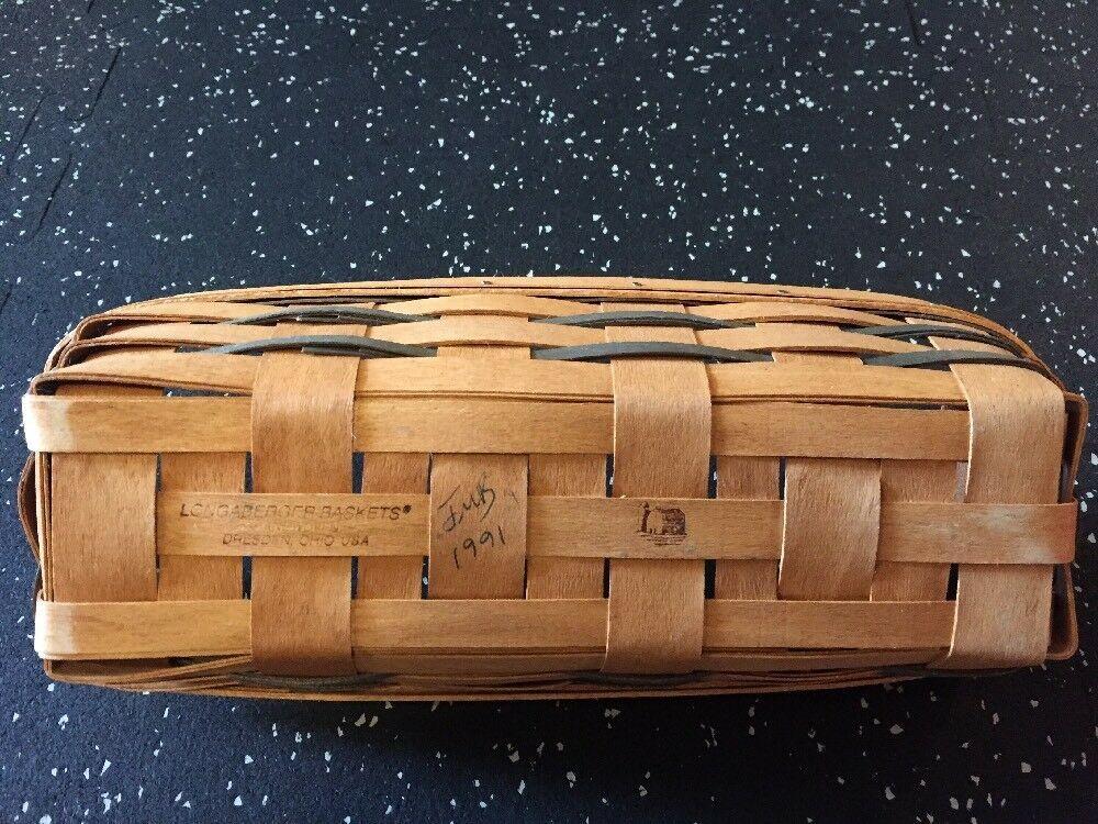 Longaberger  Booking Basket 1991
