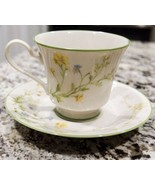 Noritake Cup & Saucer Reverie 7191 Pattern (5 Available) - $7.13