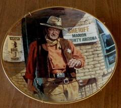 John Wayne, American Legend Franklin Mint Heirloom Collectible Plate, LA 7103 - $24.74