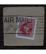 Nice Vintage Used Canada 4 Cents Stamp, GOOD COND - 1940's - $2.96