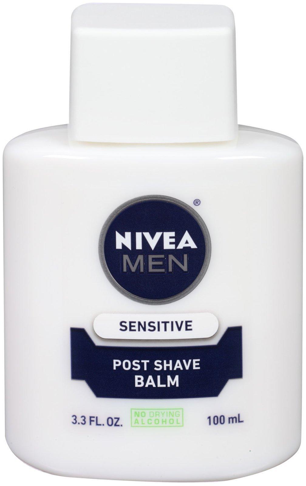 NIVEA FOR MEN Sensitive Post Shave Balm 3.3 oz