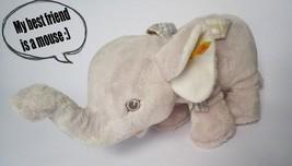 RETIRED Steiff Trampili Little Baby Elephant 28cm Plush EAN 240034 Stuff... - $72.31
