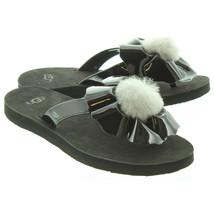 UGG Womens Poppy Sandals Black - $78.52