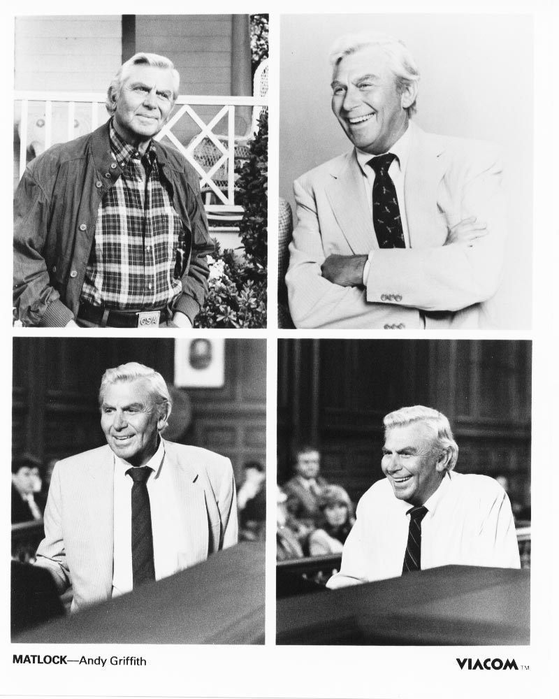Matlock Andy Griffith Press Publicity Promo Photo #2 TV