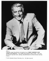 Merv Griffin's New Years Eve Special Tony Bennett Press Publicity Promo ... - $5.98