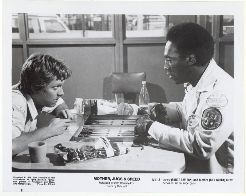 Mother Jugs and Speed Press Publicity Photo Bill Cosby Bruce Davison Film Movie