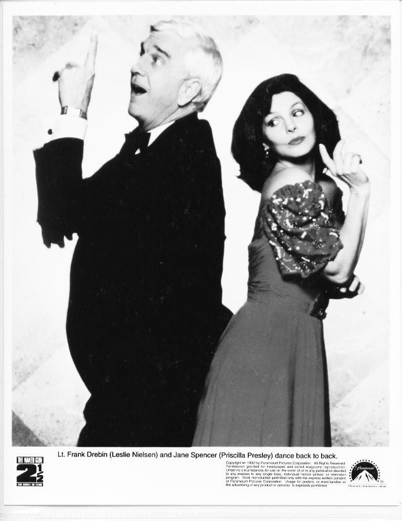 Naked Gun 2 1/2 Leslie Nielsen Priscilla Presley Press Photo Promo Film Movie