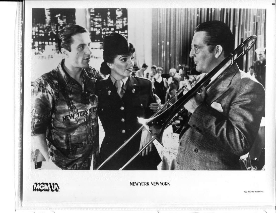 New York New York Press Publicity Photo MGM Liza Minnelli Robert DeNiro Movie