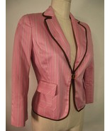 EXPRESS NWT PINK BROWN TINY FIT SHRUNKEN JACKET 2 $148 - $24.99