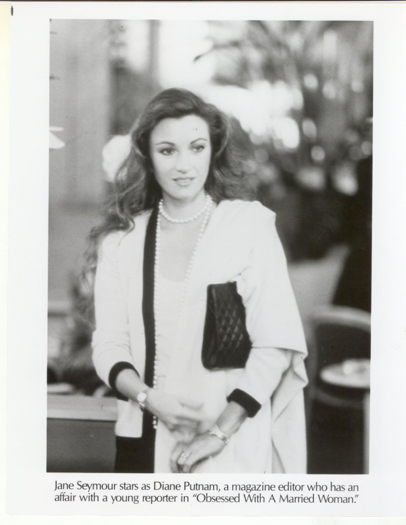 Primary image for Obsessed With a Married Woman Jane Seymour Press Publicity Photo Movie TV