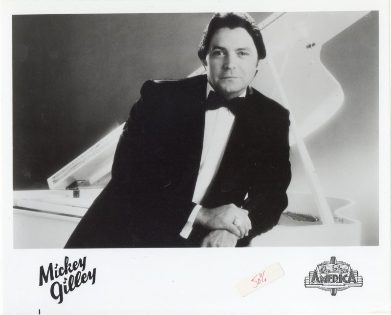 On Stage America Press Publicity Photo Mickey Gilley TV Show Singer