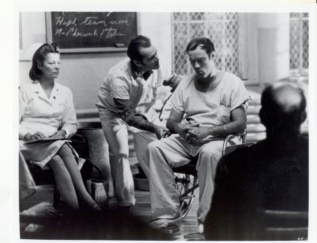 One Flew Over the Cuckoo's Nest Jack Nicholson Louise Fletcher Press Photo #2