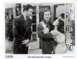 Philadelphia Story Jimmy Stewart John Howard Katharine Hepburn Press Pro... - $6.99
