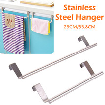 Wall Mounted Towel Holder Cabinet Drawer Towel Hanging Rack Storage Hold... - $13.60