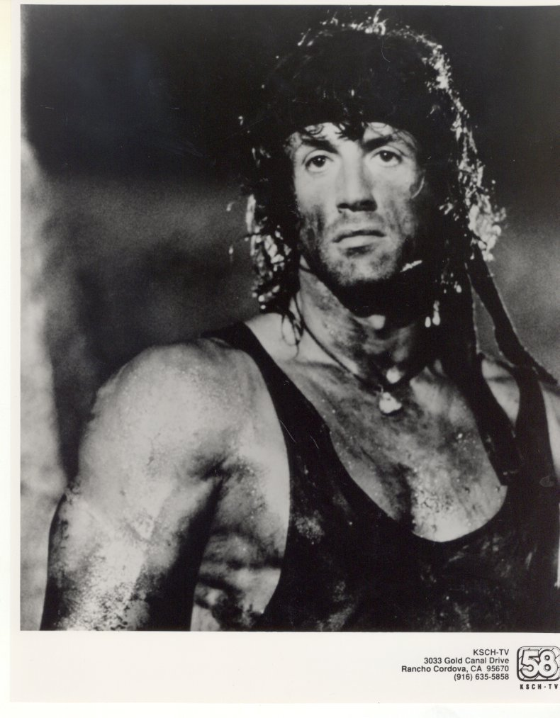 Rambo First Blood Sylvester Stallone Press Photo Movie Still 1982
