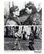 Red Sonja Arnold Schwarzenegger Brigitte Nielsen Press Publicity Photo M... - $5.98