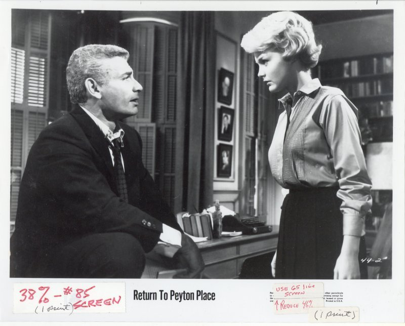 Return to Peyton Place Press Publicity Photo Jeff Chandler Carol Lynley Film