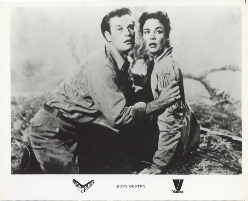 Ruby Gentry Press Publicity Photo Charlton Heston Jennifer Jones Film Movie