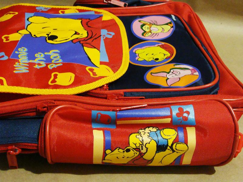 Disney Winnie the Pooh TIGGER PIGLET SCHOOL BACKPACK BAG TODDLER KIDS