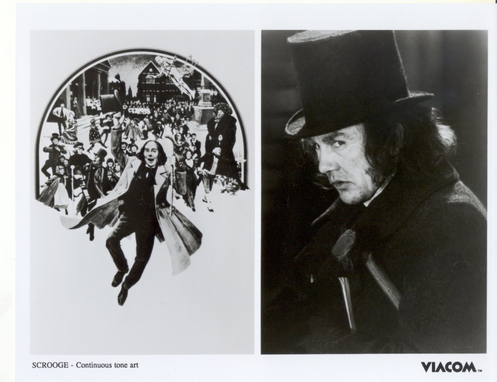 Scrooge Albert Finney Press Publicity Promo Photo Movie Film