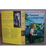 Nancy Drew #10 The Password to Larkspur Lane 1s... - $12.99