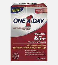 Royalmedi One A Day Proactive 65 Plus Multivitamins, 150 Tablets Men & Women 65+ - $48.99
