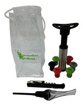Wine Accessories Kit - Gift Set Includes Bottle Opener, Wine Aerator, Wi... - £13.87 GBP