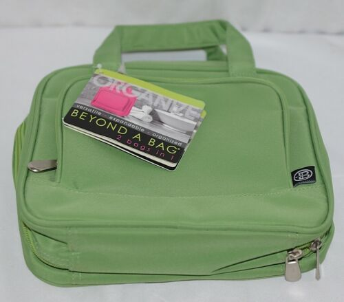 GANZ Brand Beyond a Bag BB227 Wild Lime Color Toiletry Notebook Organizer